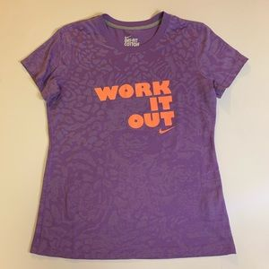 Nike Work it out Shirt